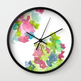 180802 Beautiful Rejection  3| Colorful Abstract Wall Clock