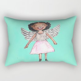 Appealing to your better angels Rectangular Pillow
