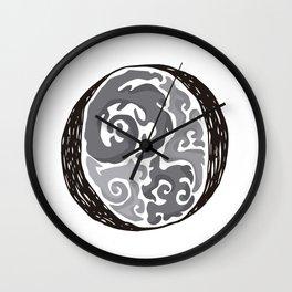 The Brainy O Wall Clock