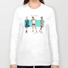Men in Skirts Long Sleeve T-shirt