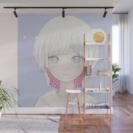 Silence egg-san Wall Mural