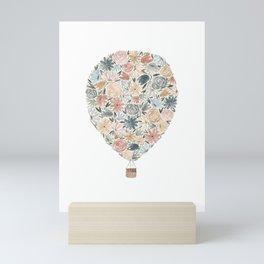 Floral Balloon Mini Art Print