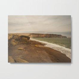 Playa Roja, Paracas Natural Reserve, Peru Metal Print