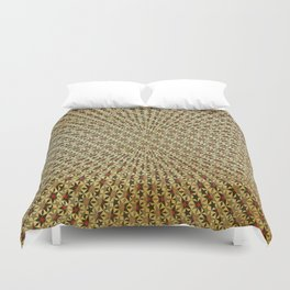 Radiating Stars Duvet Cover