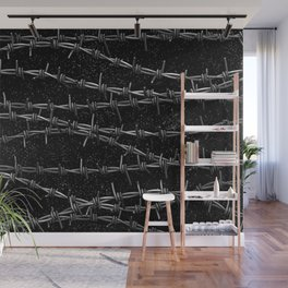 Bouquets of Barbed Wire Wall Mural