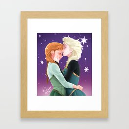Keep Warm Framed Art Print