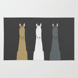 Triple Horses Rug