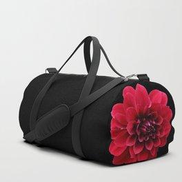 Red dahlia Duffle Bag