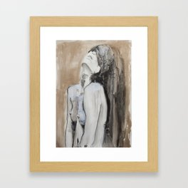 Ages pass and still there is room to fill Framed Art Print