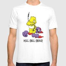 Kill Bill Bear White MEDIUM Mens Fitted Tee