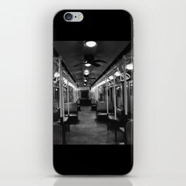 New York Subway Car #2 iPhone Skin