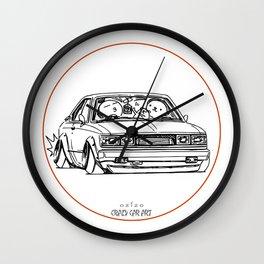 Crazy Car Art 0096 Wall Clock