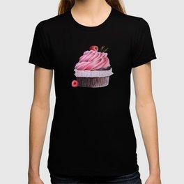 Chocolate Raspberry Cupcake T-shirt