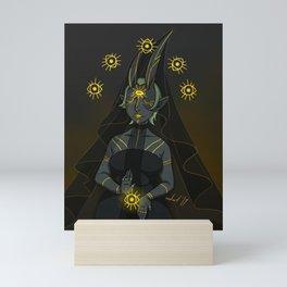 Priestess of All Seeing, All Knowing Goddess Mini Art Print
