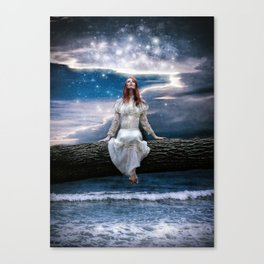 Wishing for Neverland Canvas Print