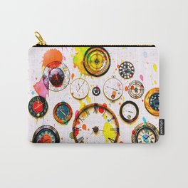 Time For Art Carry-All Pouch