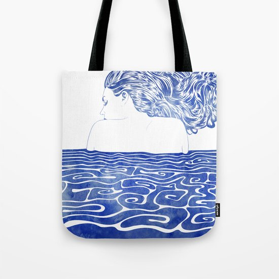 Water Nymph LXII Tote Bag
