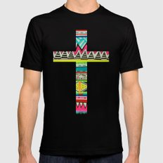 VIVID EYOTA MEDIUM Black Mens Fitted Tee