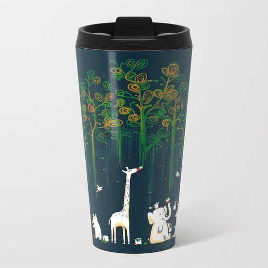 Re-paint the Forest Metal Travel Mug