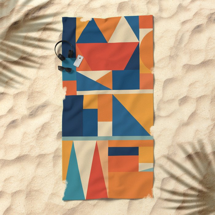 KakuTres Beach Towel