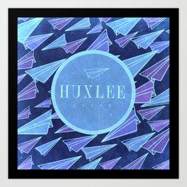 Huxlee Music Merch Art Print