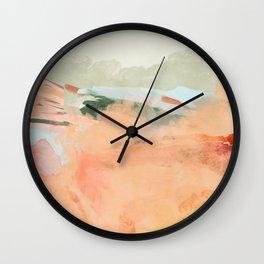 spring sky over tuscany Wall Clock