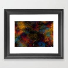 Final Frontier Abstract 2 Framed Art Print