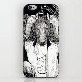 The Cryptids - The Jersey Devil iPhone Skin