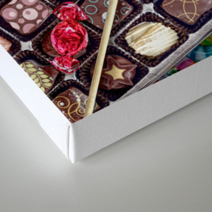 Candylicious Canvas Print