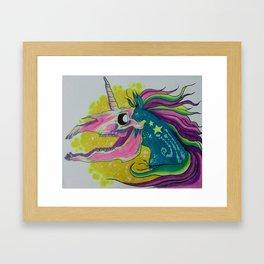 my little dead pony Framed Art Print