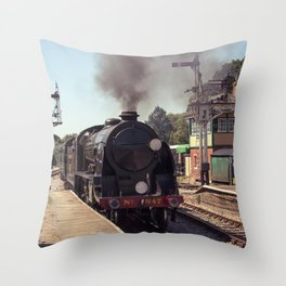 S15 at Horsted Keynes Throw Pillow