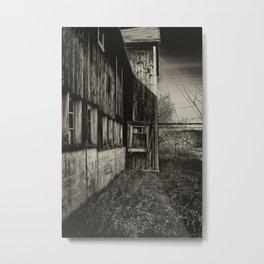 Vacant Barn Metal Print