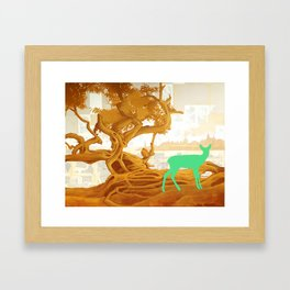 Imaginary Deer Framed Art Print