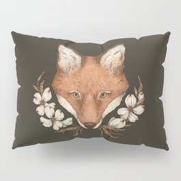 The Fox and Dogwoods Pillow Sham