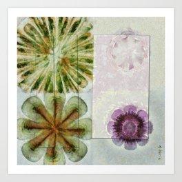 Essive Truth Flowers  ID:16165-132545-22351 Art Print