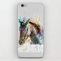 Watercolor Horse Portrait iPhone & iPod Skin