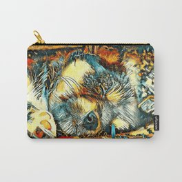AnimalArt_Dog_20170906_by_JAMColorsSpecial Carry-All Pouch