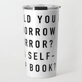 Borrow a Mirror Travel Mug