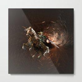 ZELDA MASTER SWORD Metal Print