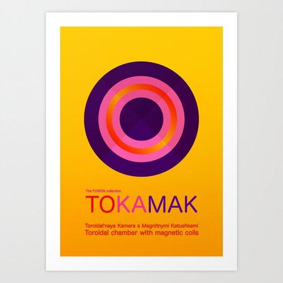 Fusion - Tokamak Art Print