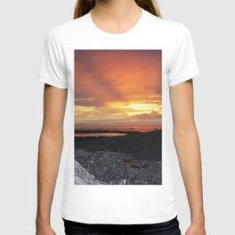 Sunset on the Rocks T-shirt