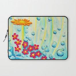 Aqua Fleur - Mazuir Ross Laptop Sleeve