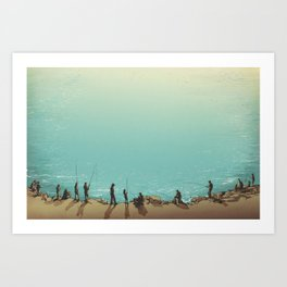 Lake Erie Art Print