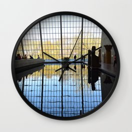 The Met Reflection Wall Clock