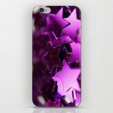 Falling star iPhone & iPod Skin