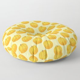 Orange Pumpkin Floor Pillow