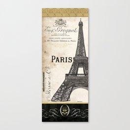 Paris Ooh La La 1 Canvas Print