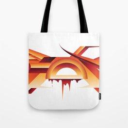 Step Gloop 3D Red Tote Bag