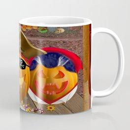 Halloween Pumpkin Masquerade Coffee Mug