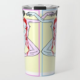 Tweedle Dee and Tweedle Dum Travel Mug